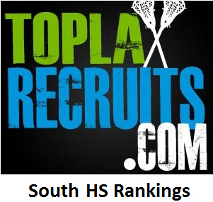 TopLaxRecruits.com Southern Girls', Boys' Rankings: Lake Highland Prep (FL) takes over No. 1 boys' spot