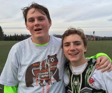 FCA Maryland's Liam Darragh (goalie), Michael DelBene (MF)