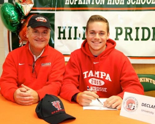 NLI signings: Hopkinton (MA) DEF/LSM McWilliams, Episcopal Ac. (PA) ATT Zappala, Westminster (MD) DEF Patterson