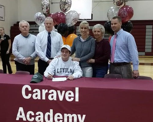 NLI signings: Caravel (DE) FO Shriner, Billerica (MA) ATT Lynch, W.T Woodson (VA) DEF Cogan