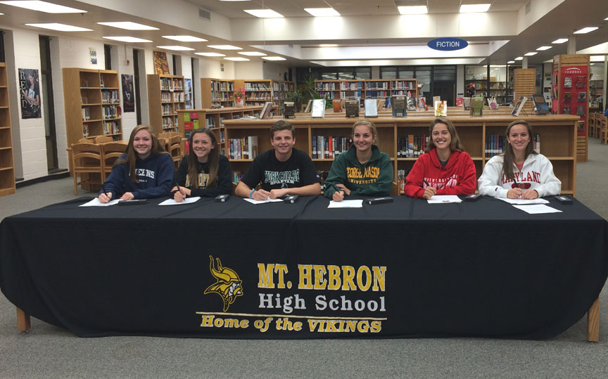 Queens University Of Charlotte >> National Letter of Intent: Six from Mt. Hebron (MD) make