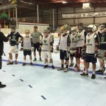 USBoxLa instructor Matt Brown instructs players during a clinic last week at Marple Sports Arena