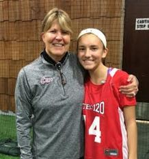 Alaina Parisella is joined by coach Bev Altig