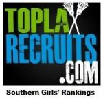 TopLaxRecruits.com Girls' Southern Rankings: @HutchisonSting (TN), @NGgirlsLax (GA) moving up
