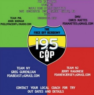 Rosters announced for I-95 Cup team face-off championships on Feb. 13 at @MSI_Lacrosse (PA)
