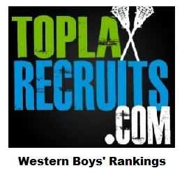 Preseason Western Boys' Rankings: @StIgnatius (CA), @RJHSBDLax (CO) are 1-2