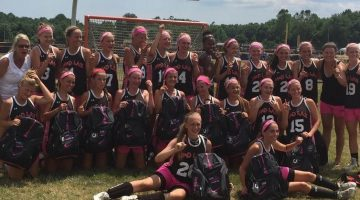 M&D celebrates the 2020 title at Lax for the Cure