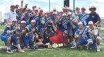 Long  Island celebrates the High School boys' championship at the Brine NLC