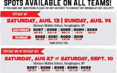 Registration open for @LIOutlaws (NY) boys' club tryouts at Stimson MS