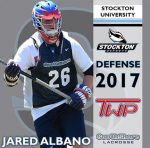 .@Epochlax boys' recruit: Washington Twp. (N.J.) 2017 DEF Albano commits to Stockton