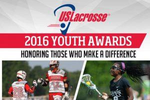 .@USlacrosse names 2016 Youth Awards winners