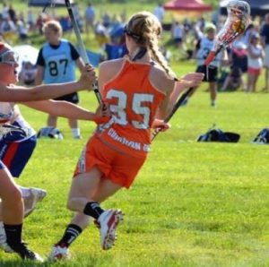 .@WaveOneSports girls' recruit: Fairport (NY) 2017 ATT Weir commits to Gannon
