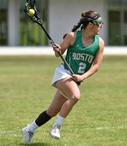.@WaveOneSports girls' recruit: Duxbury (MA) 2019 MF/DEF Barry commits to Boston College