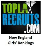 Final TopLaxRecruits New England Girls' Rankings: @dariengirlslax is No. 1