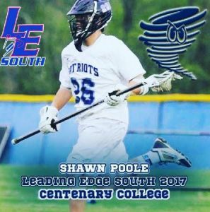 .@Epochlax boys' recruit: Freehold Twp. (NJ) 2017 LSM Poole commits to Centenary