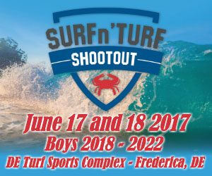 Registration open for @SURFnTURFlax at new DEL venue (12 lighted fields) June 17-18