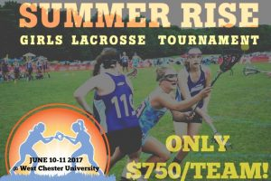 Registration open for @Victory_Events Summer Rise girls' tourney June 10-11 at West Chester Univ. (PA)