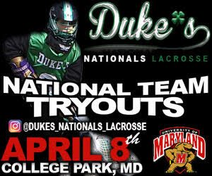 Tryouts set for @THEDUKESLC Nationals on April 8 at University of Maryland