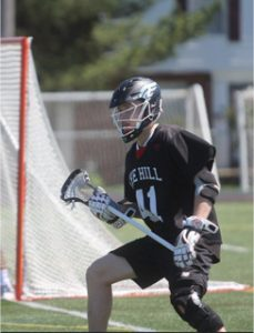 .@ConnectLAX boys' recruit: Hill Academy (Ontario, Canada) 2017 DEF Bolsterli commits to McGill