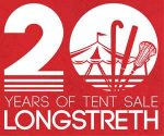 .@LongstrethUSA (PA) celebrates 20th year of its Tent Sale Friday through Sunday