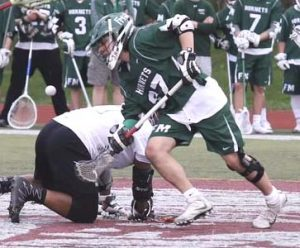 .@ConnectLAX boys' recruit: Fayetteville Manlius (NY) 2018 FO/MF VanValkenburgh commits to Belmont Abbey
