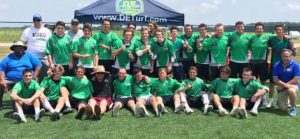 .@THEDUKESLC wins 2018 Division title at @passport_lax Battle of Baltimore