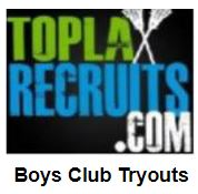 Overall list of boys' club team tryouts around the USA