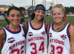 Metro NY High School girls stand out in All-Star Game, help team finish undefeated in Pool Play at @NLCLacrosse