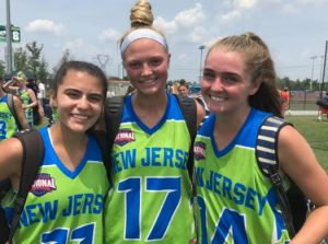 New Jersey girls' HS team finishes perfect 4-0 in Pool Play at @NLCLacrosse by working together