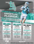 Registration open for @Sweetlax_Fla boys' club tryouts in September