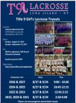 Registration open for Title 9 girls' club tryouts on Aug. 27, Sept. 24 at Veterans Memorial Park, Wading River (NY)