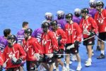 Team Canada U17s defeat Iroquois Nationals, 25-7, at Heritage Cup