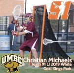 .@ConnectLAX boys' recruit: Kings Park (NY) 2019 goalie Michaels commits to UMBC