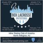 Registration open for @o2lacrosse 1st Annual Box Lacrosse Tournament in North Arlington, N.J.
