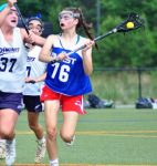 .@LongstrethLAX girls' recruit: Archbishop Carroll (PA) 2019 MF Sulouff commits to LaSalle
