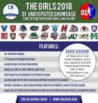 Applications being accepted for Girl's @CBLaxers @D1_UND1SPUTED SHOWCASE on June 25 in Hicksville, N.Y.