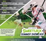 .@SweetLax_Lax announces 5th Annual Sweetlax Summer Showcase June 22 in Pittsford, NY
